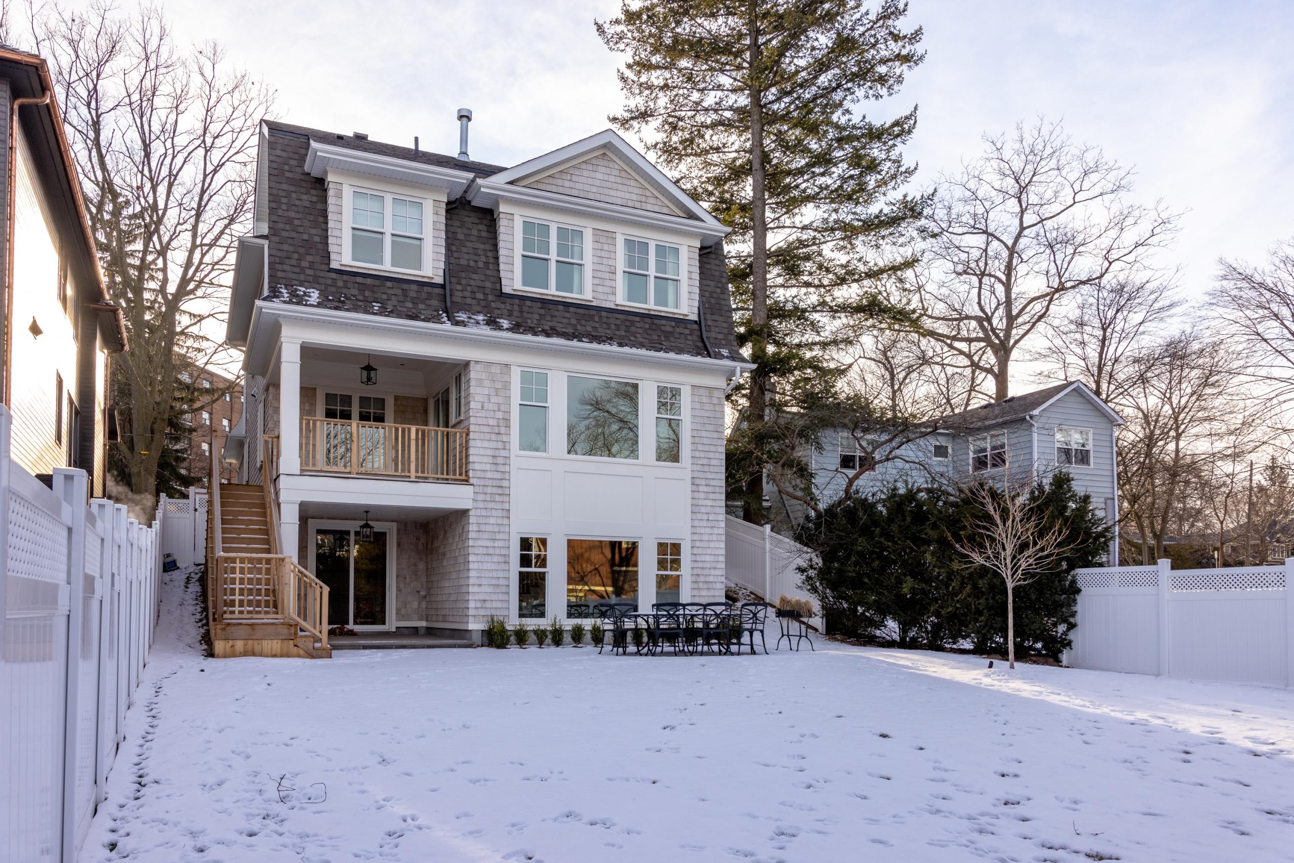 Custom Home 131 Douglas Avenue, Downtown Oakville at Alex Irish & Associates