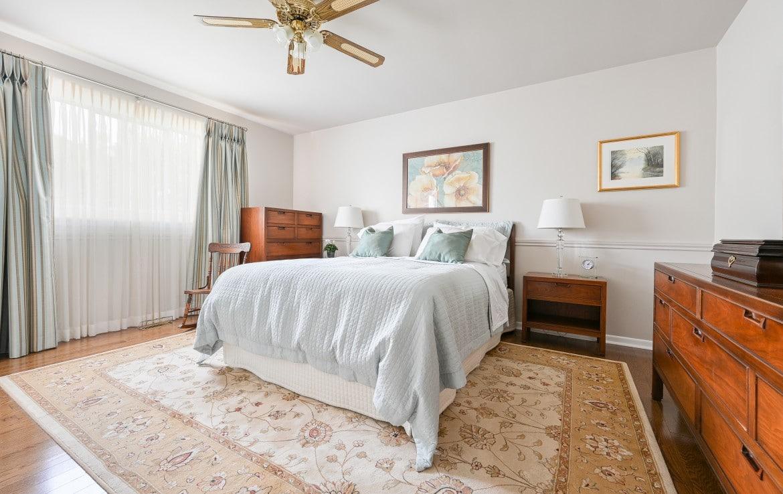 Bedroom featured at 1466 Bunsden Avenue, Mississauga, ON at Alex Irish & Associates