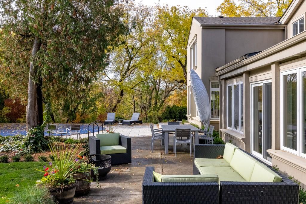 Backyard featured at 2552 Jarvis Street, Mississauga, ON at Alex Irish & Associates