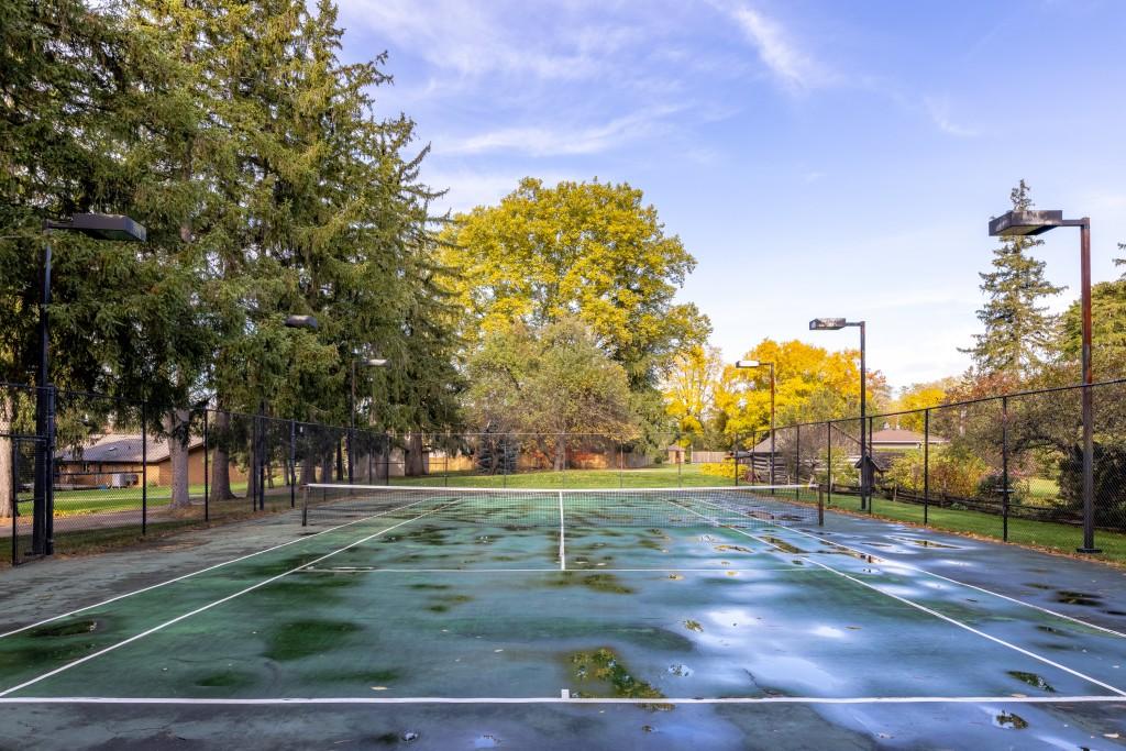 Tennis Court featured at 2552 Jarvis Street, Mississauga, ON at Alex Irish & Associates