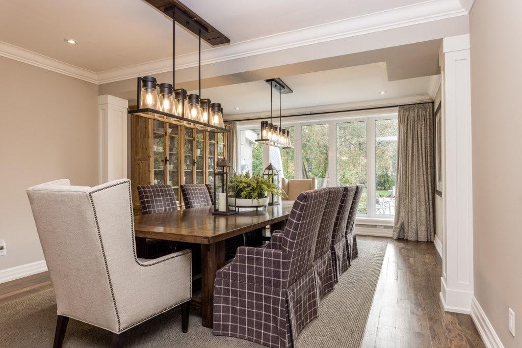 Dining room featured at 2552 Jarvis Street, Mississauga, ON at Alex Irish & Associates
