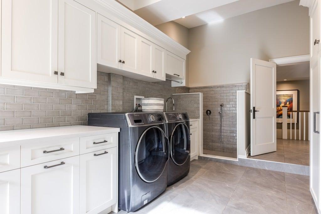 Laundry room featured at 2552 Jarvis Street, Mississauga, ON at Alex Irish & Associates