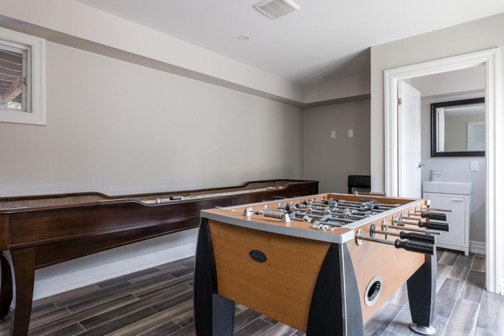 Tennis room featured at 2552 Jarvis Street, Mississauga, ON at Alex Irish & Associates