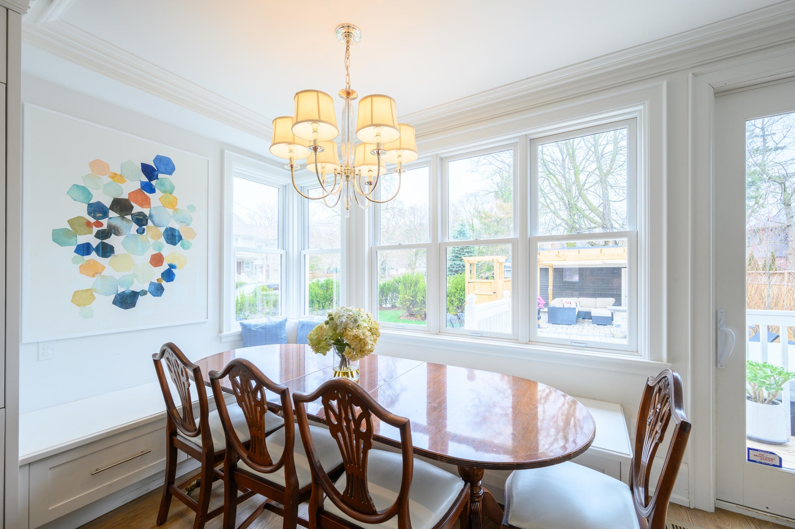 Dining room featured at 199 Allan Street, Old Oakville, ON at Alex Irish & Associates