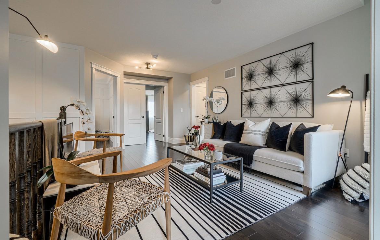 Living room featured at 3342 Moses Way, Burlington, ON at Alex Irish & Associates