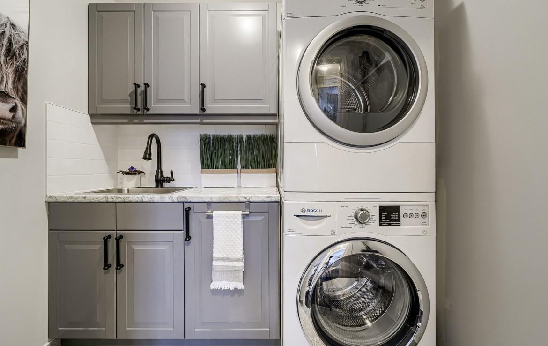 Laundry room featured at 3342 Moses Way, Burlington, ON at Alex Irish & Associates