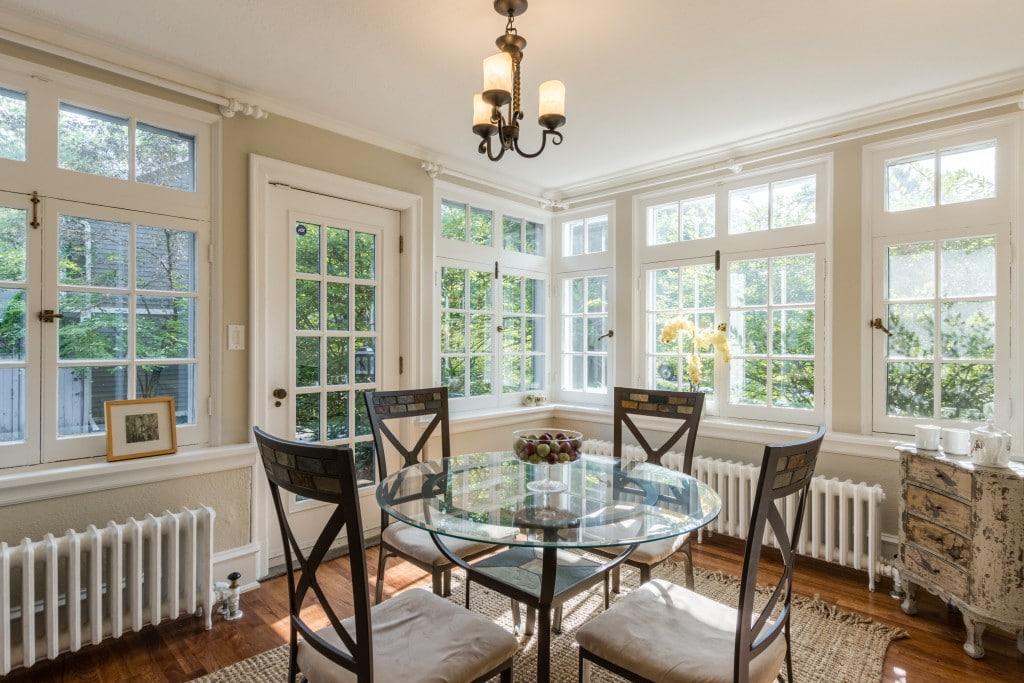 Dining room featured at 429 MacDonald Road, Oakville at Alex Irish & Associates