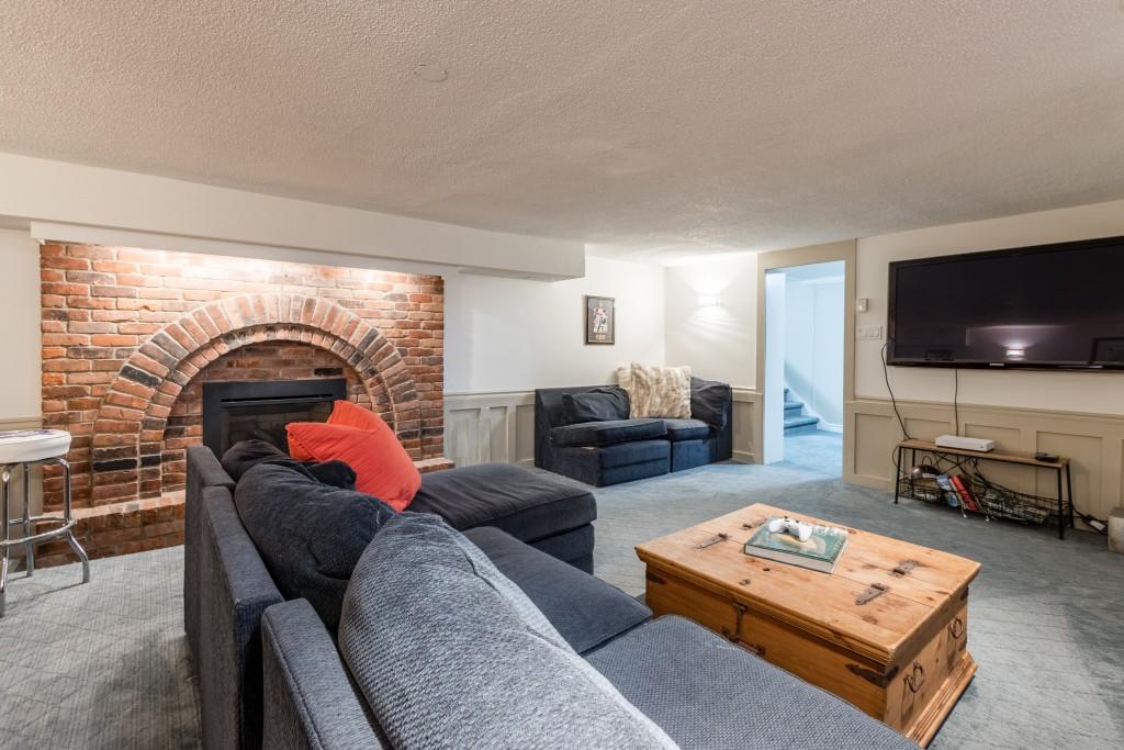 Living room featured at 429 MacDonald Road, Oakville at Alex Irish & Associates