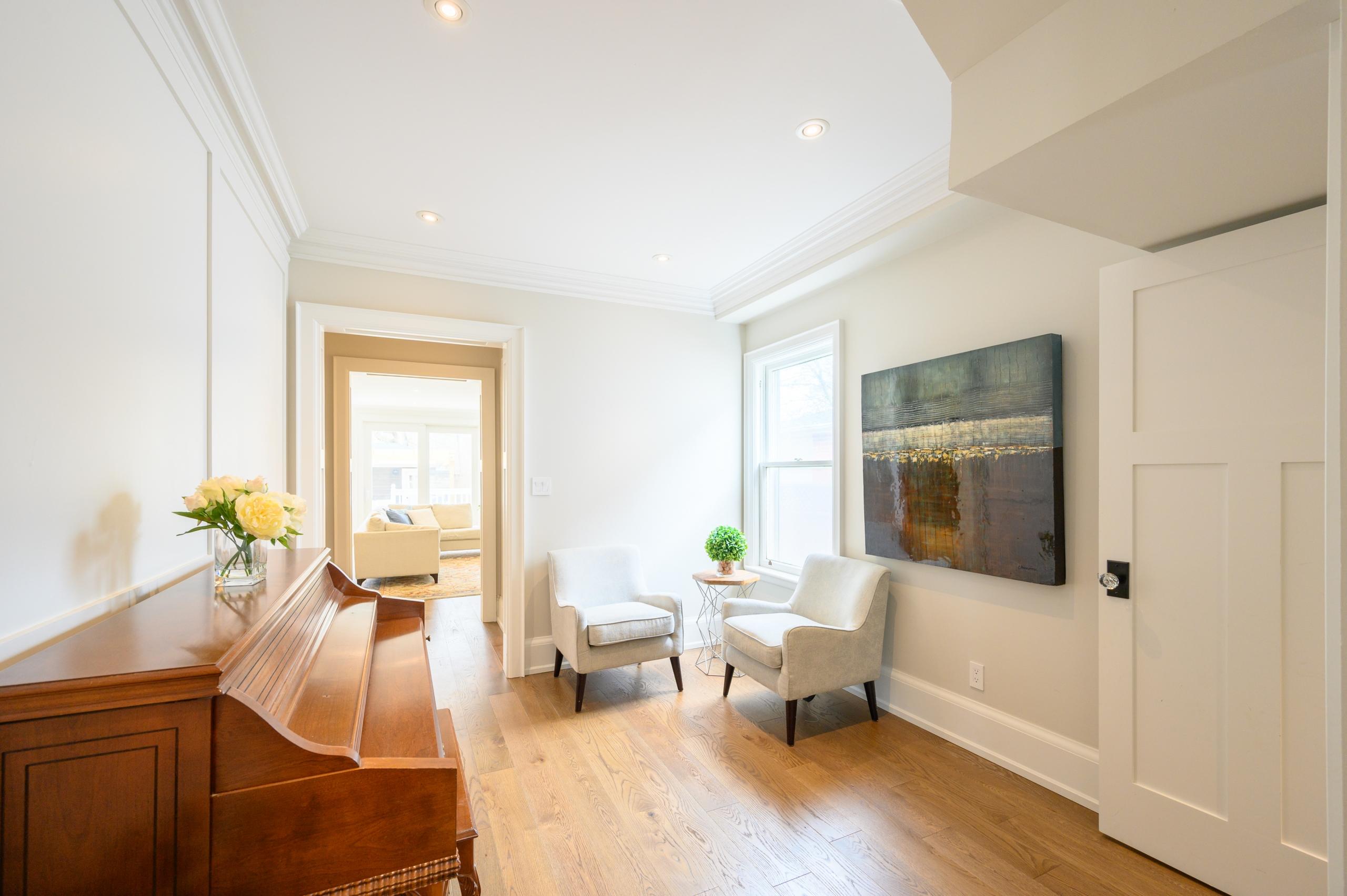 Entrance room featured at 199 Allan Street, Old Oakville, ON at Alex Irish & Associates