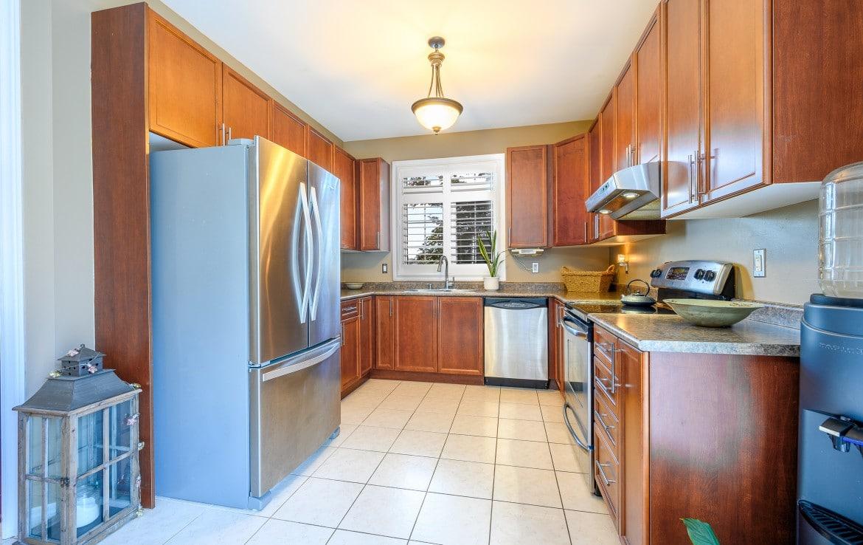 Kitchen featured at 379 Pettit Trail, Milton, ON at Alex Irish & Associates