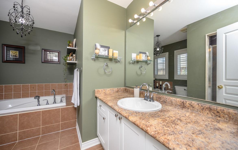 Bathroom featured at 379 Pettit Trail, Milton, ON at Alex Irish & Associates