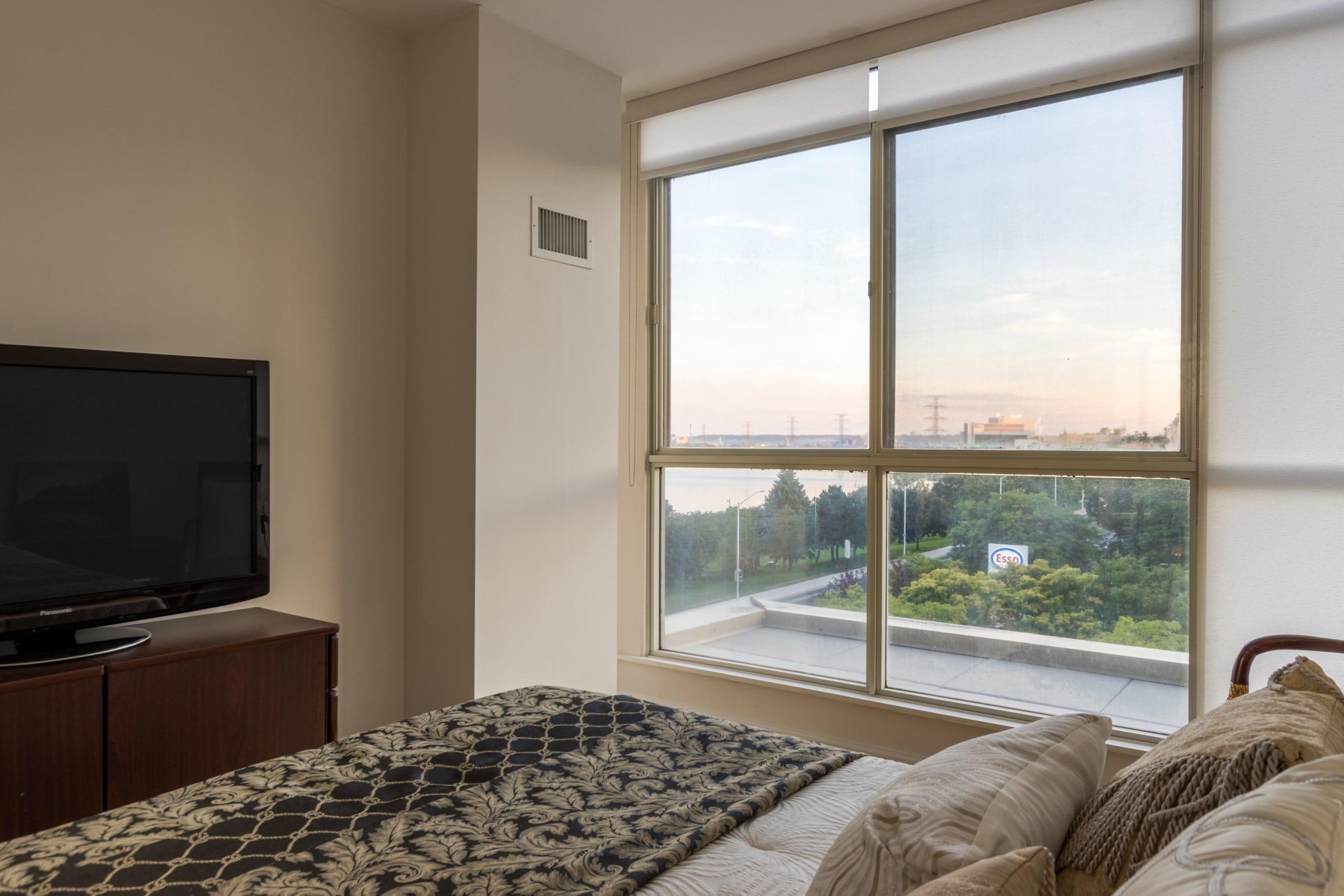 Bedroom featured at 508 – 415 Locust Street, Burlington, ON at Alex Irish & Associates