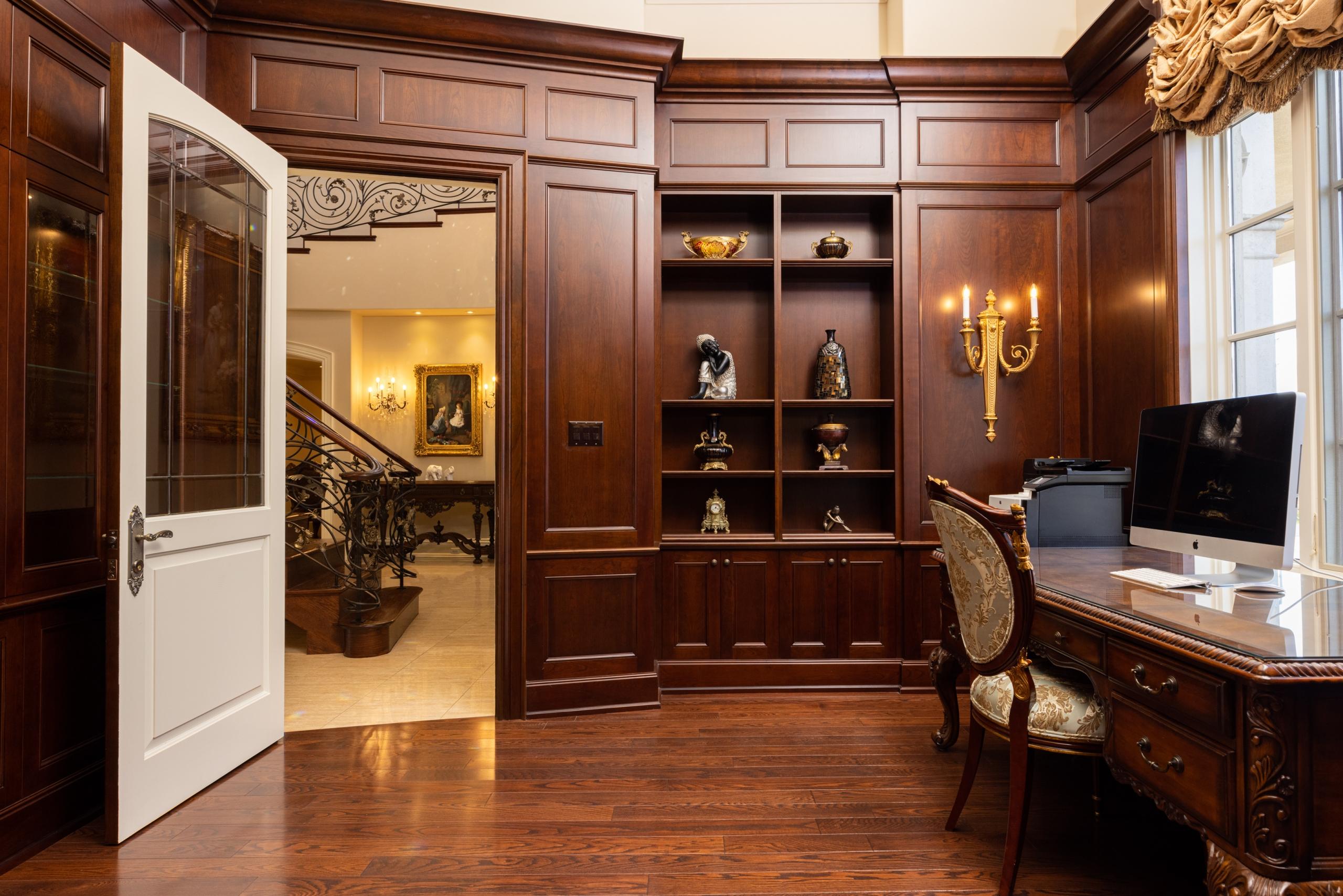 Office room featured at 2594 Bluffs Way, Burlington at Alex Irish & Associates