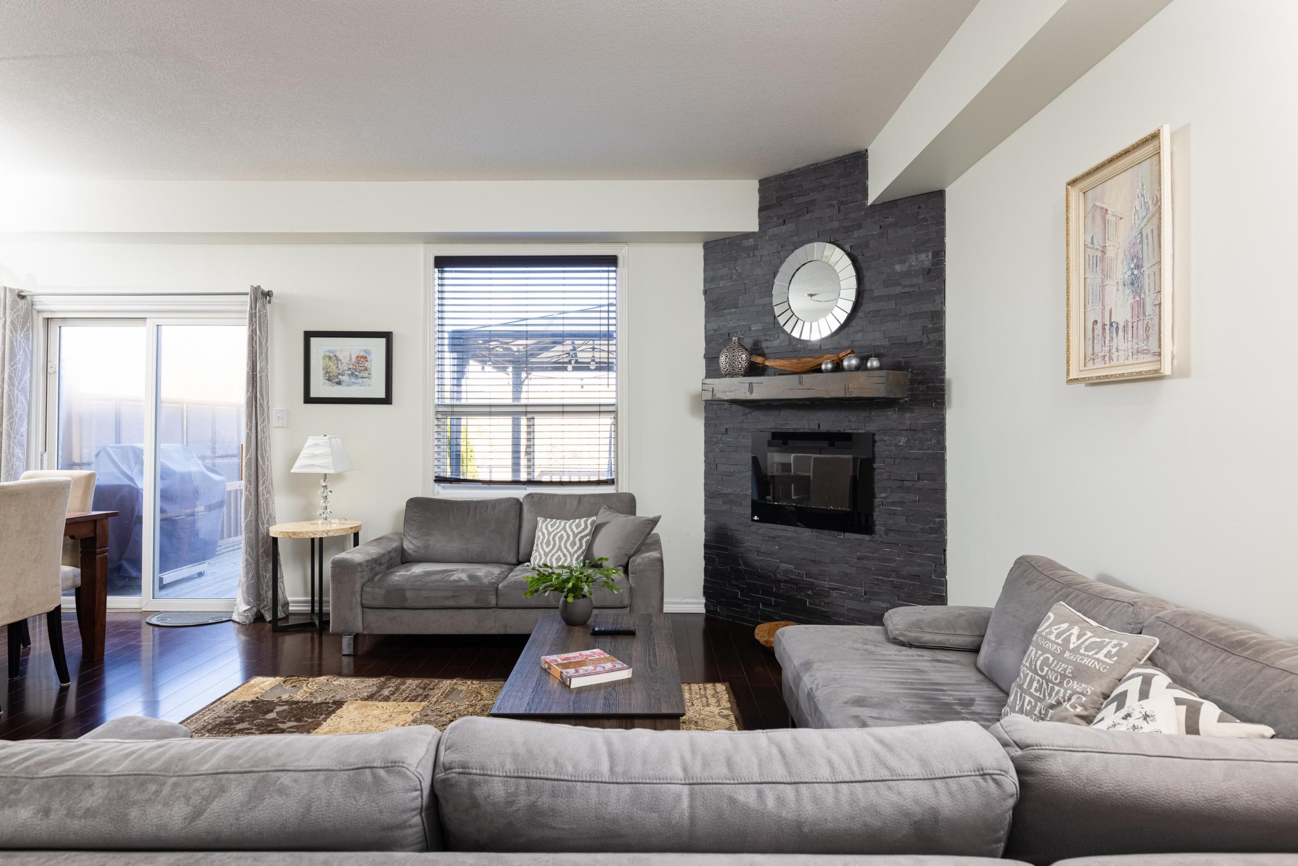 Living room featured at 5321 Scotia Street, Burlington at Alex Irish & Associates