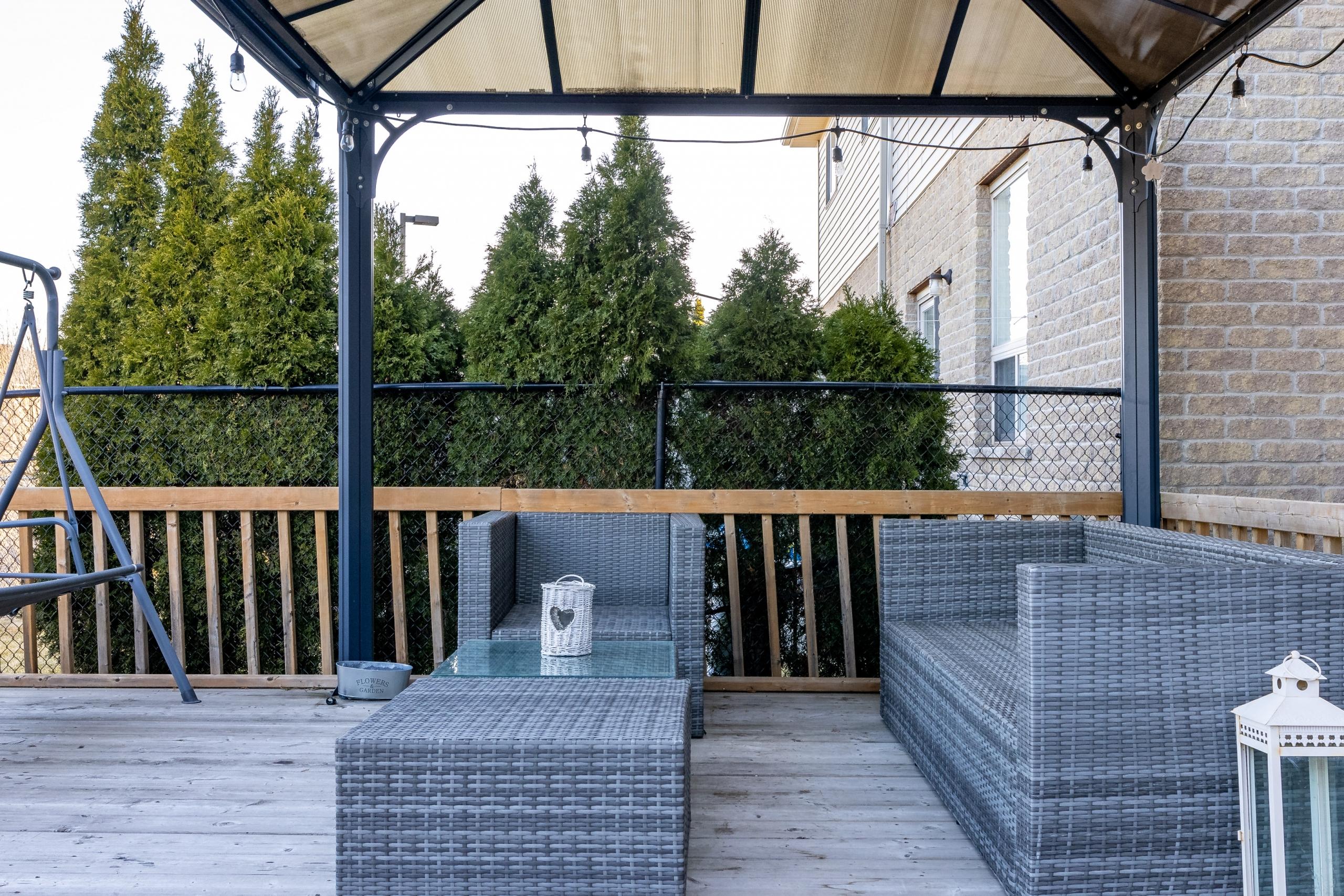 Patio featured at 5321 Scotia Street, Burlington at Alex Irish & Associates