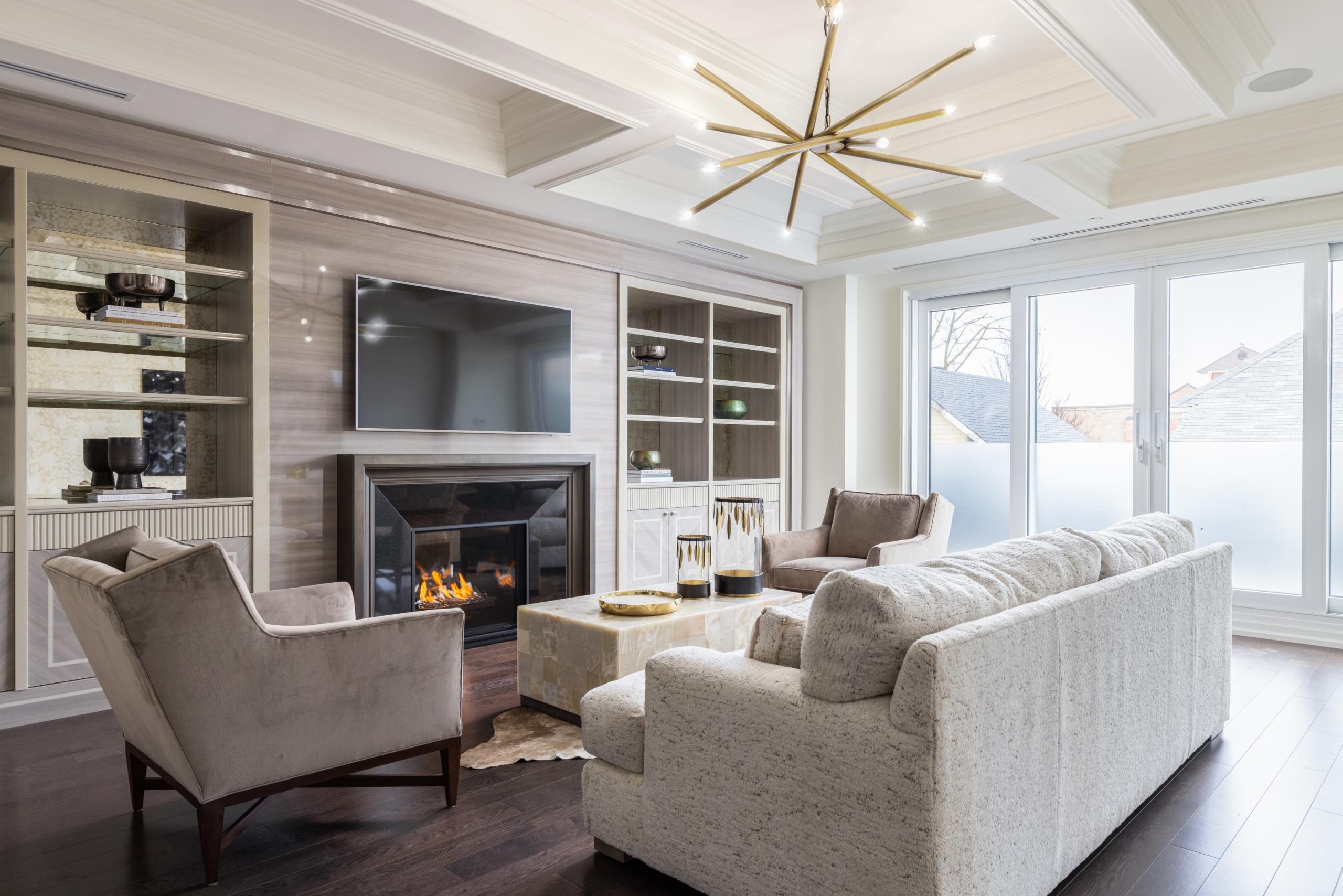 Living room featured at 208 - 300 Randall Street, Oakville at Alex Irish & Associates