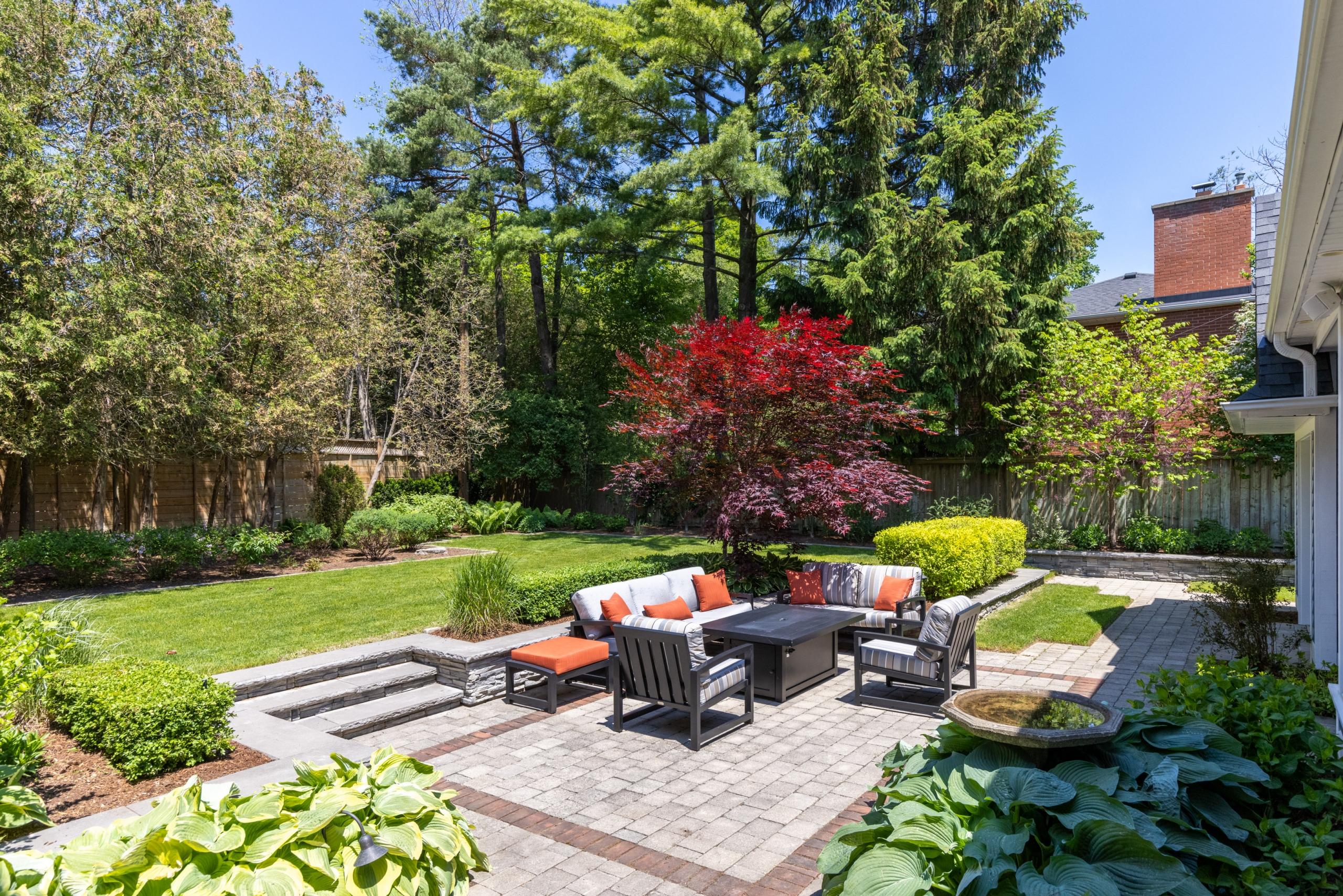 front garden featured at 1109 Morrison Heights Drive, Oakville at Alex Irish & Associates