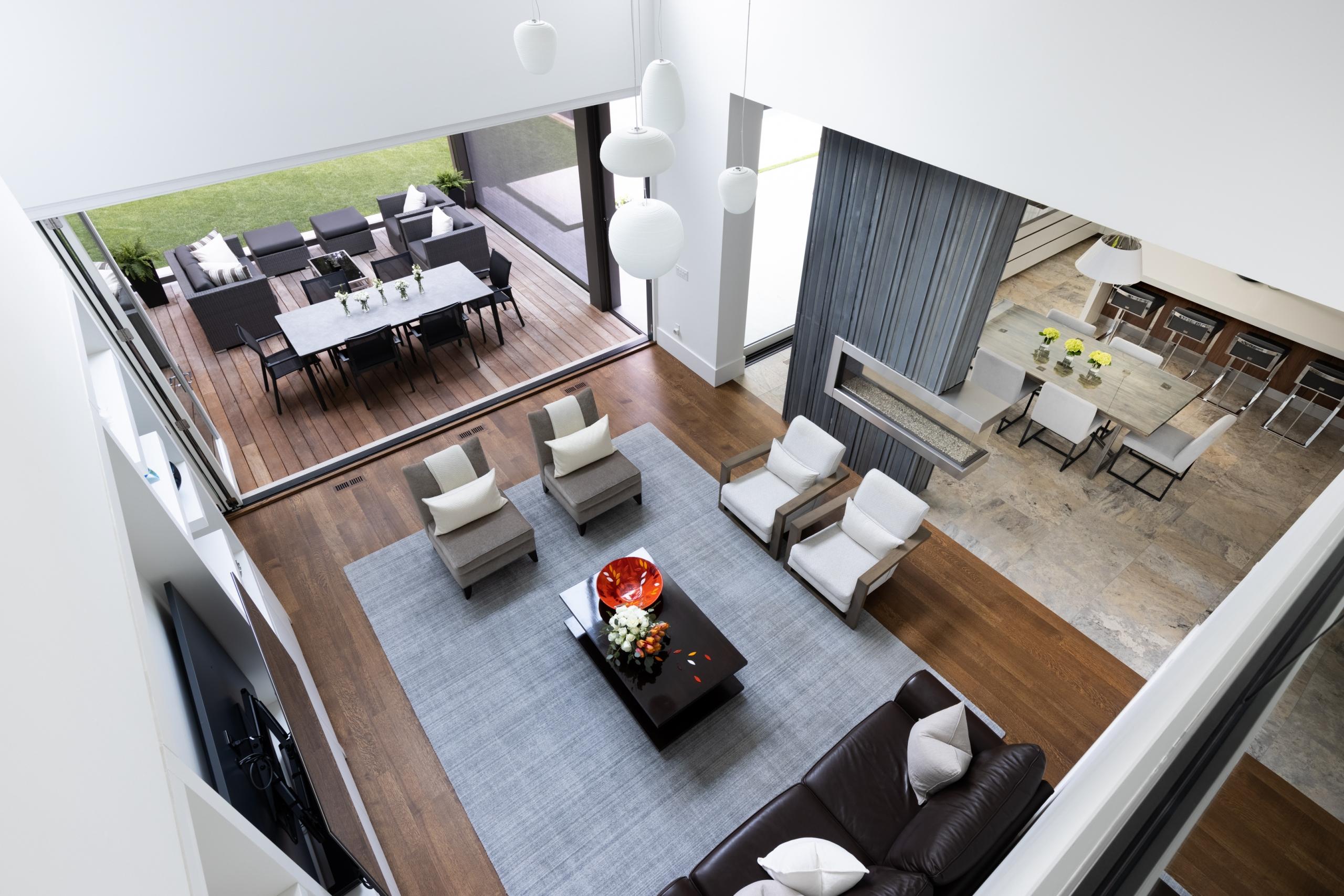 Living room featured at 65 Cox Drive, Oakville at Alex Irish & Associates