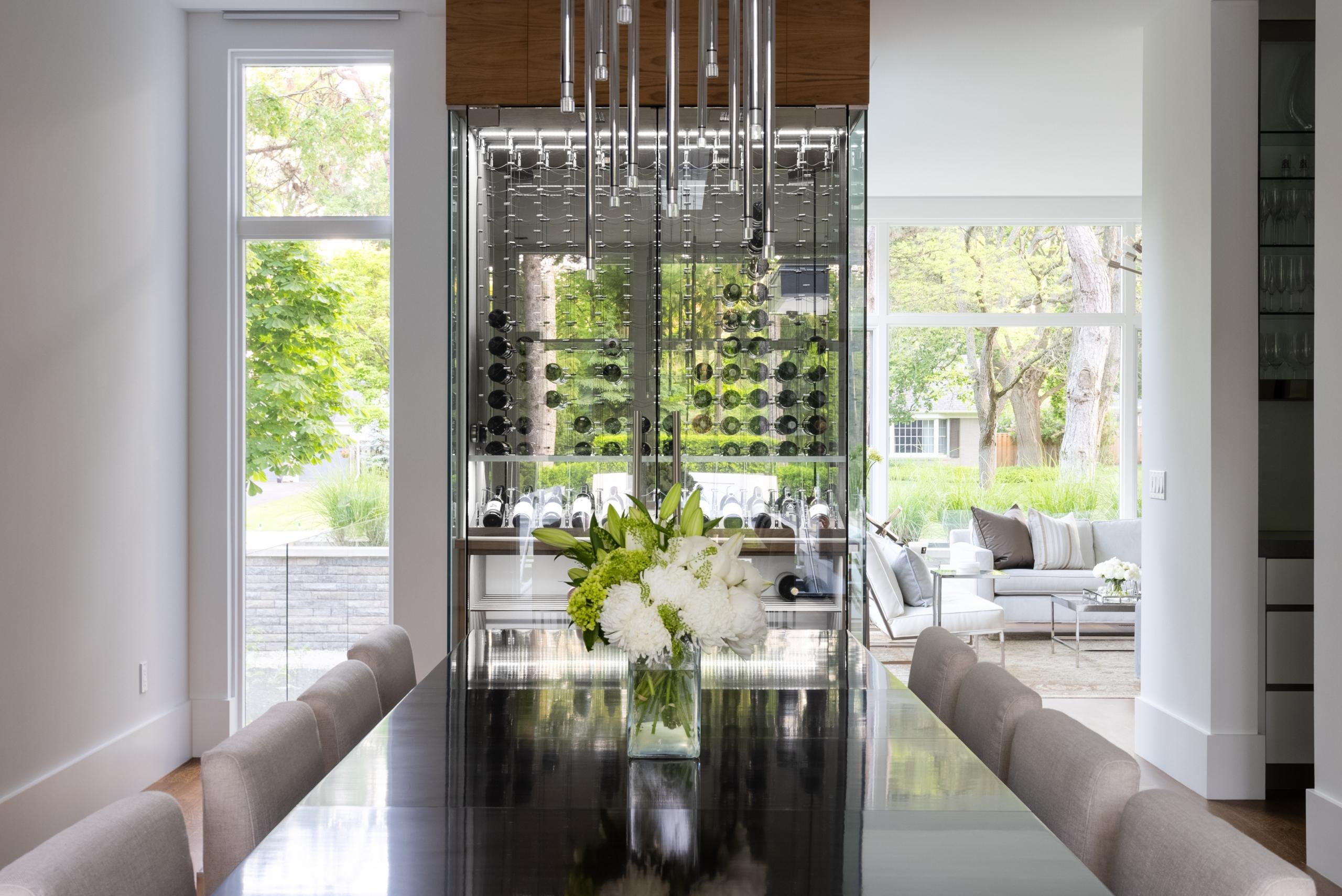 Dining area featured at 65 Cox Drive, Oakville at Alex Irish & Associates