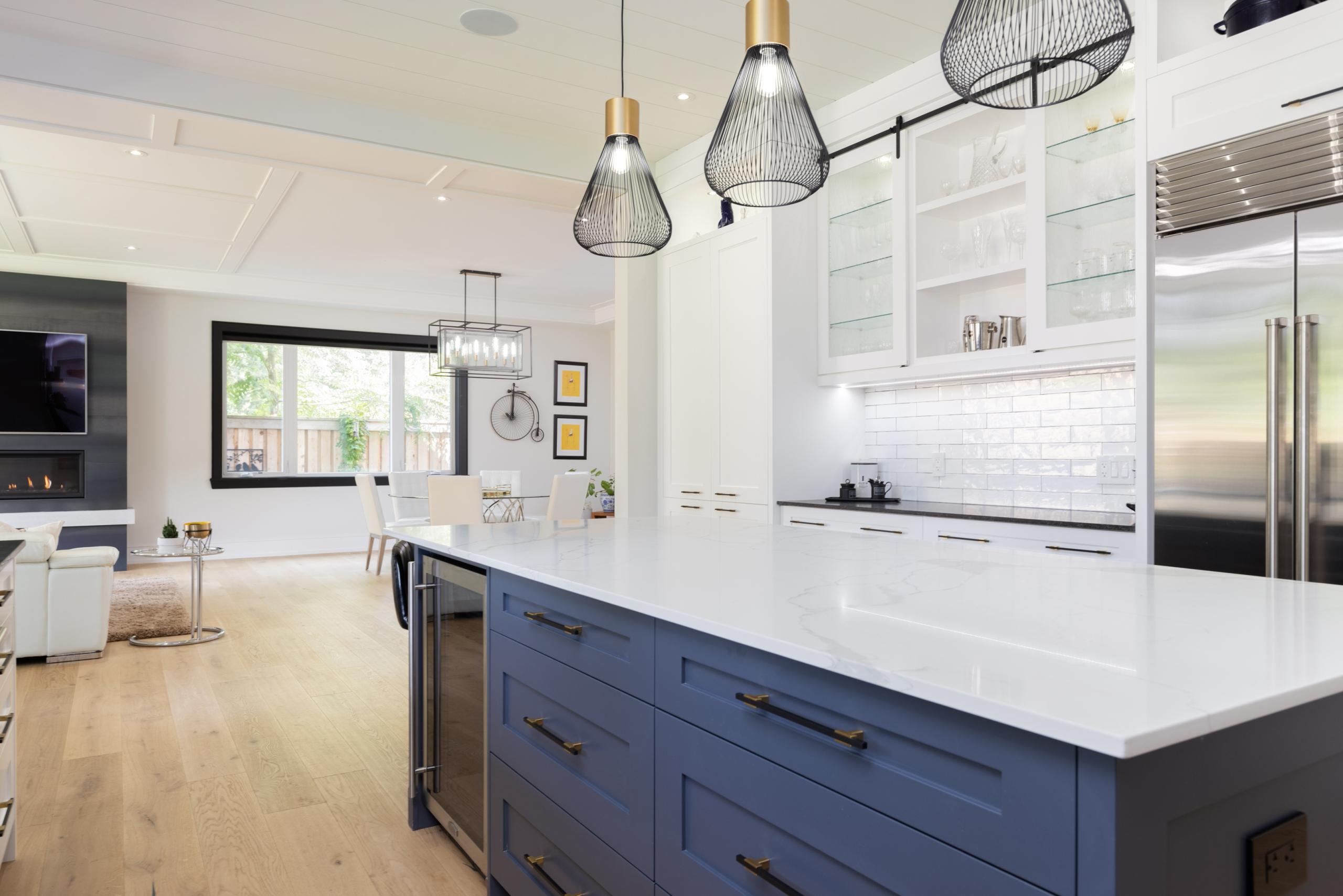 Kitchen featured at 489 Lakeshore Road W, Oakville at Alex Irish & Associates