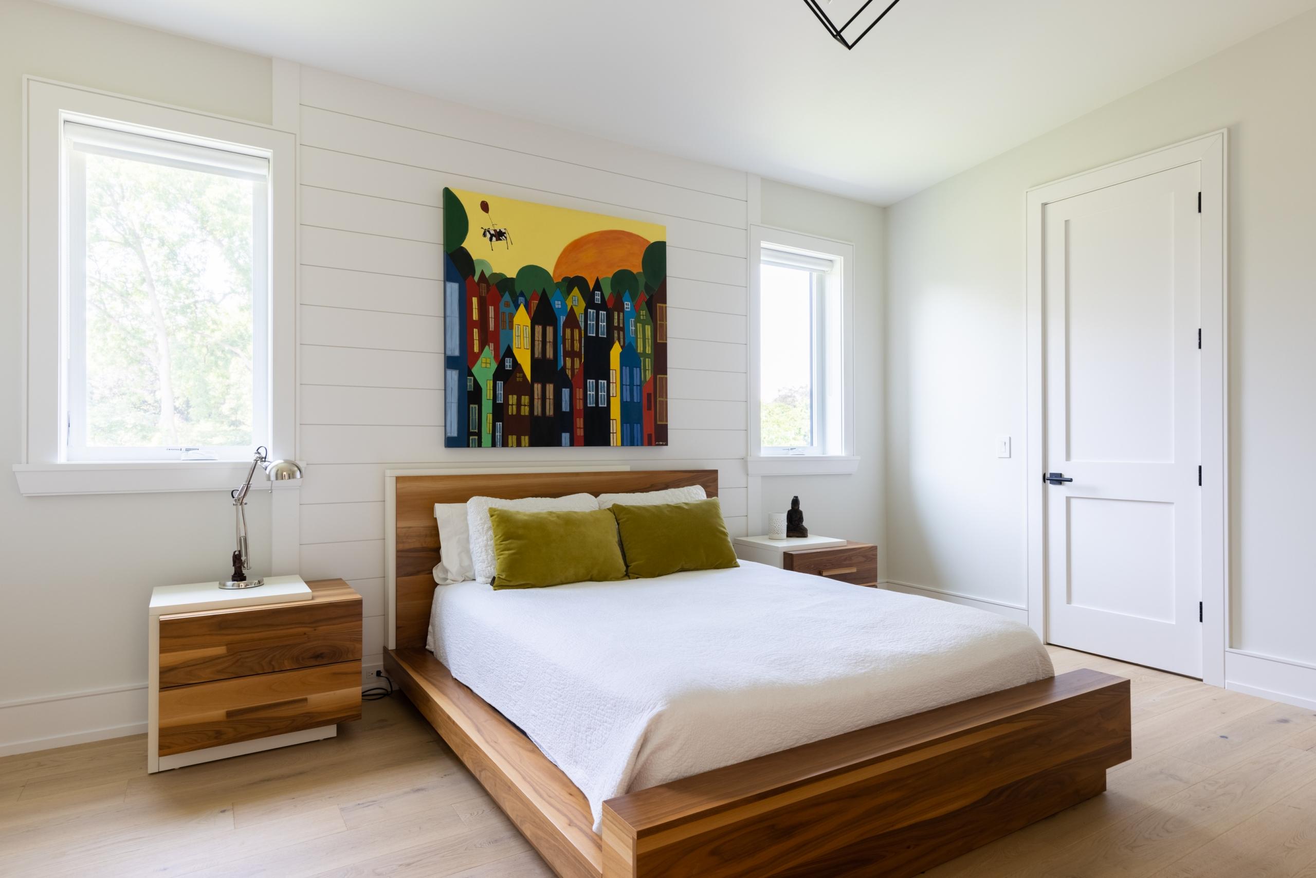 Bedroom featured at 489 Lakeshore Road W, Oakville at Alex Irish & Associates