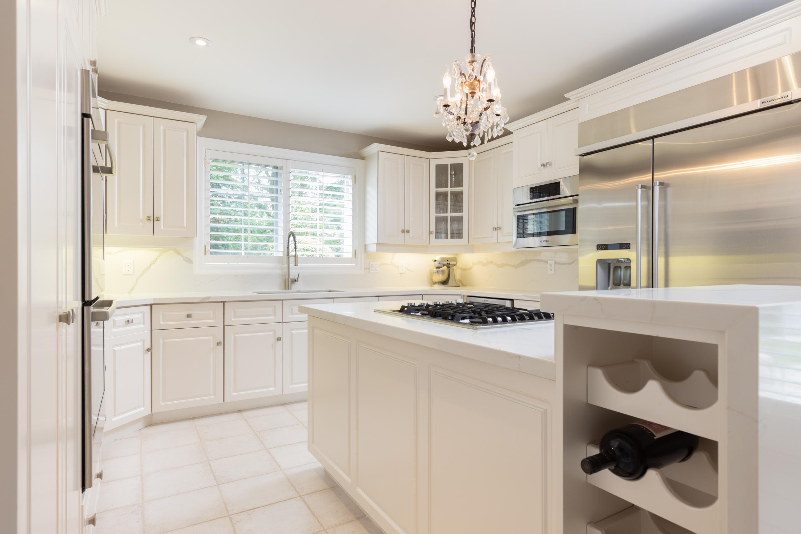 Kitchen featured at 956 Halsham Court, Mississauga at Alex Irish & Associates