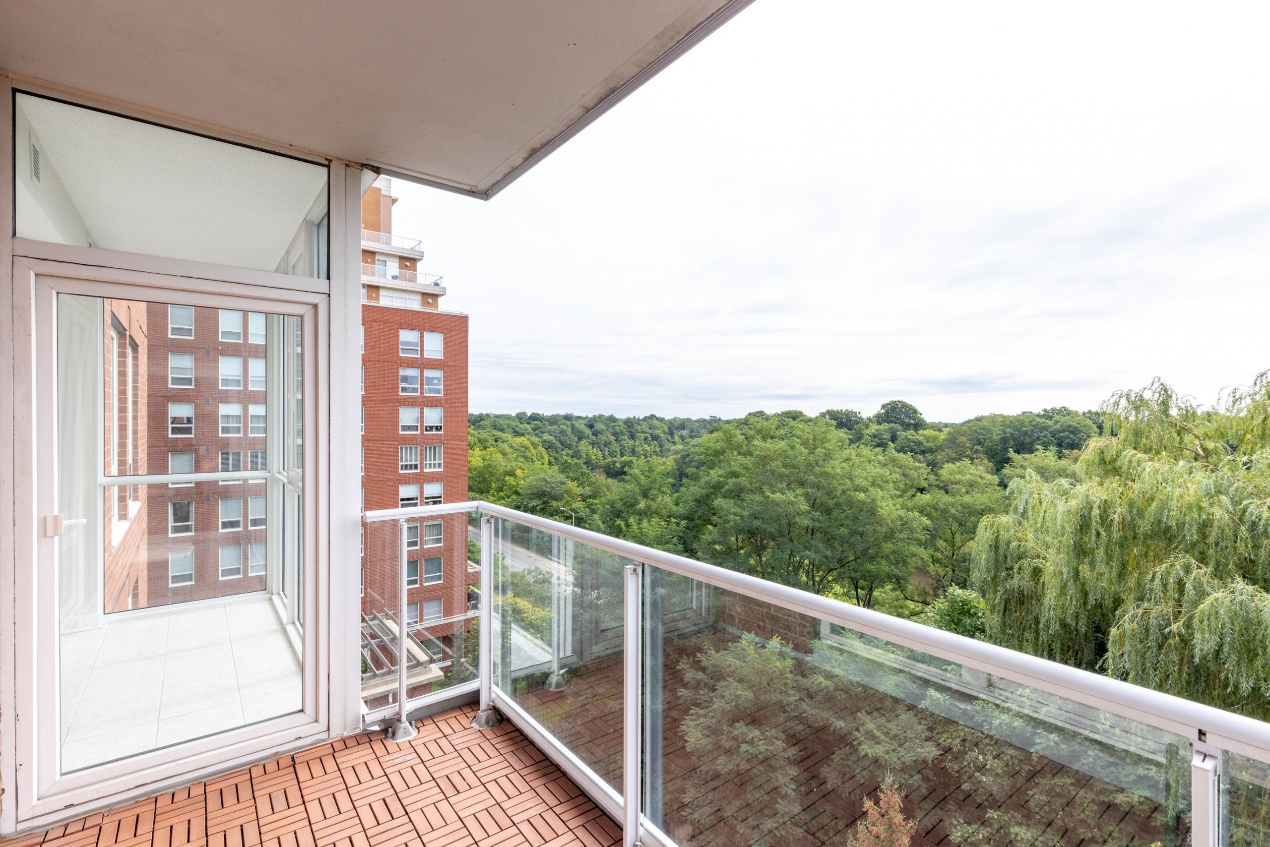 Balcony featured at 508-40 Old Mill Road, Oakville at Alex Irish & Associates