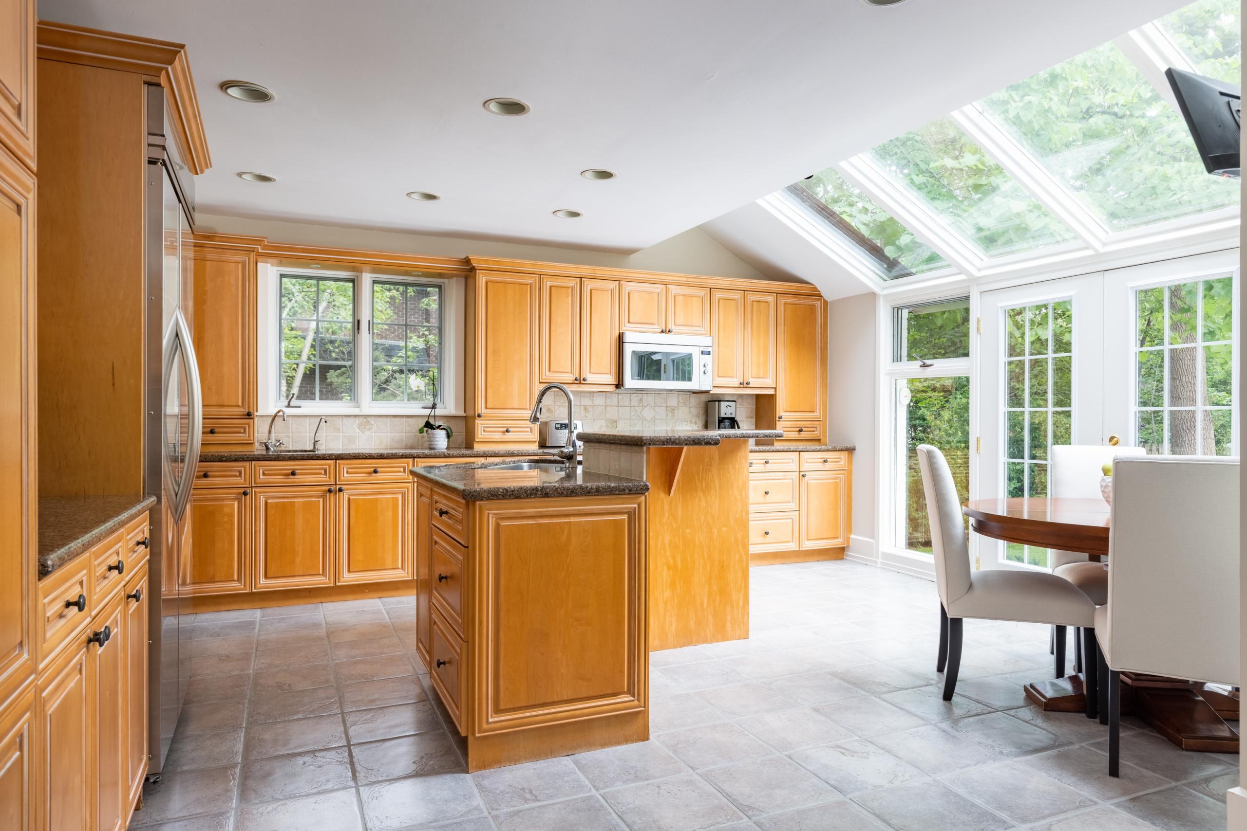 Kitchen featured at 573 Lakeshore Road West, Oakville, ON at Alex Irish & Associates