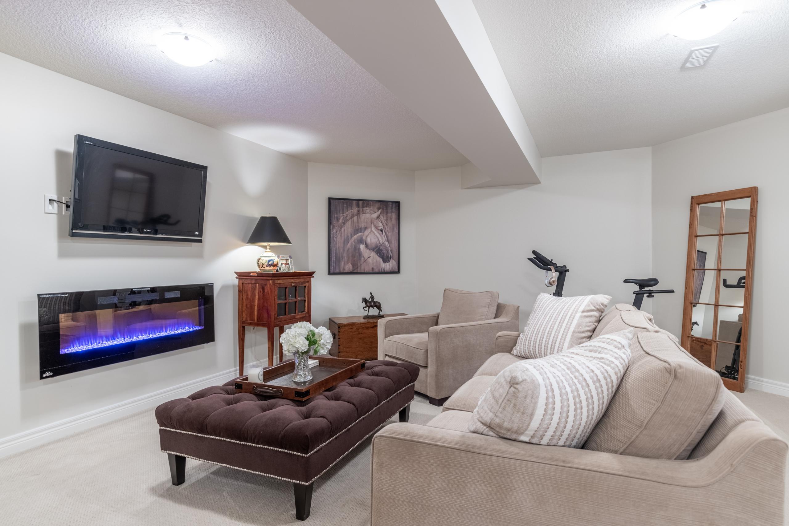 Living room featured at 7 Finton Lane, Binbrook, ON at Alex Irish & Associates