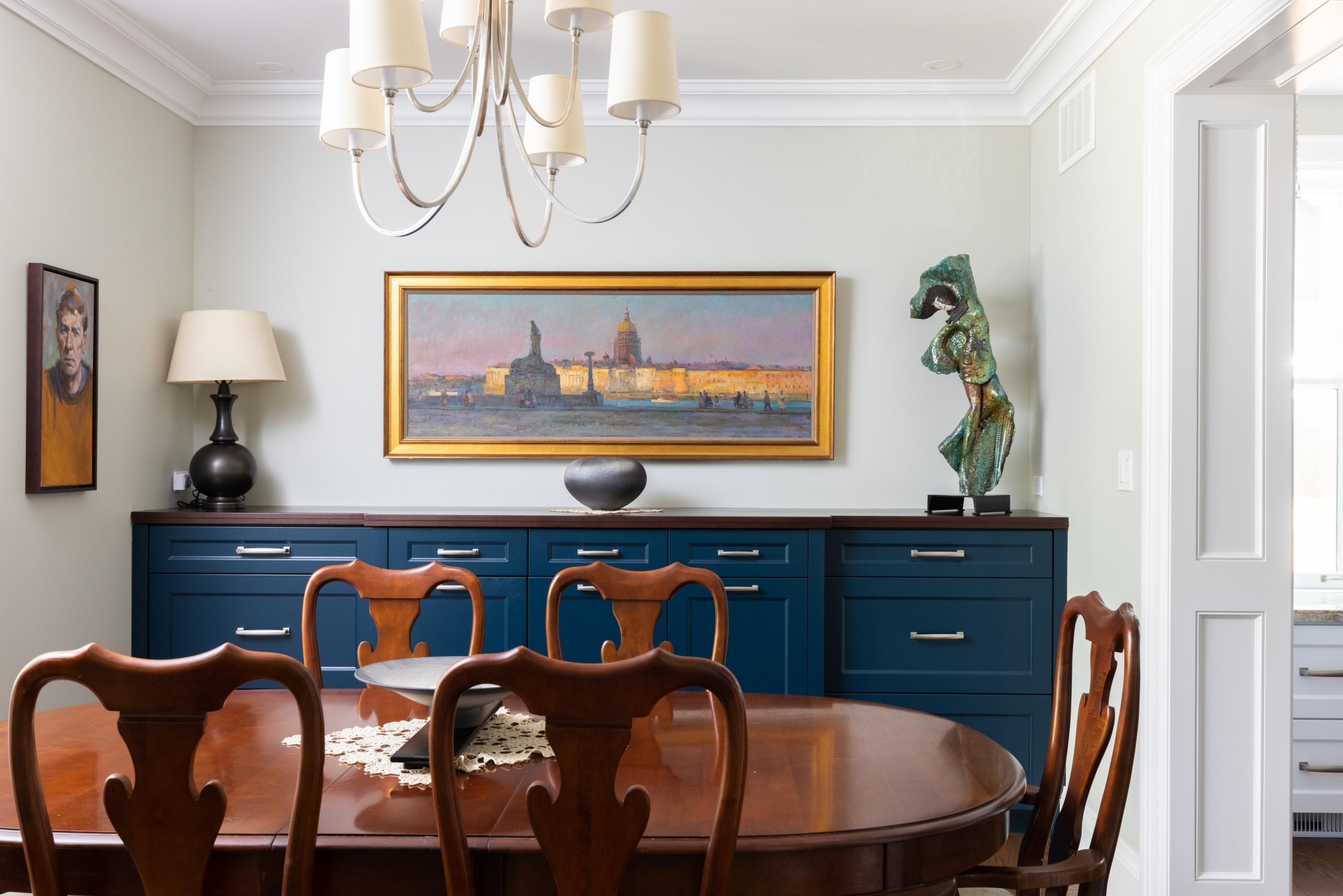 Breakfast room featured at 295 William Street, Oakville. Alex Irish & Associates