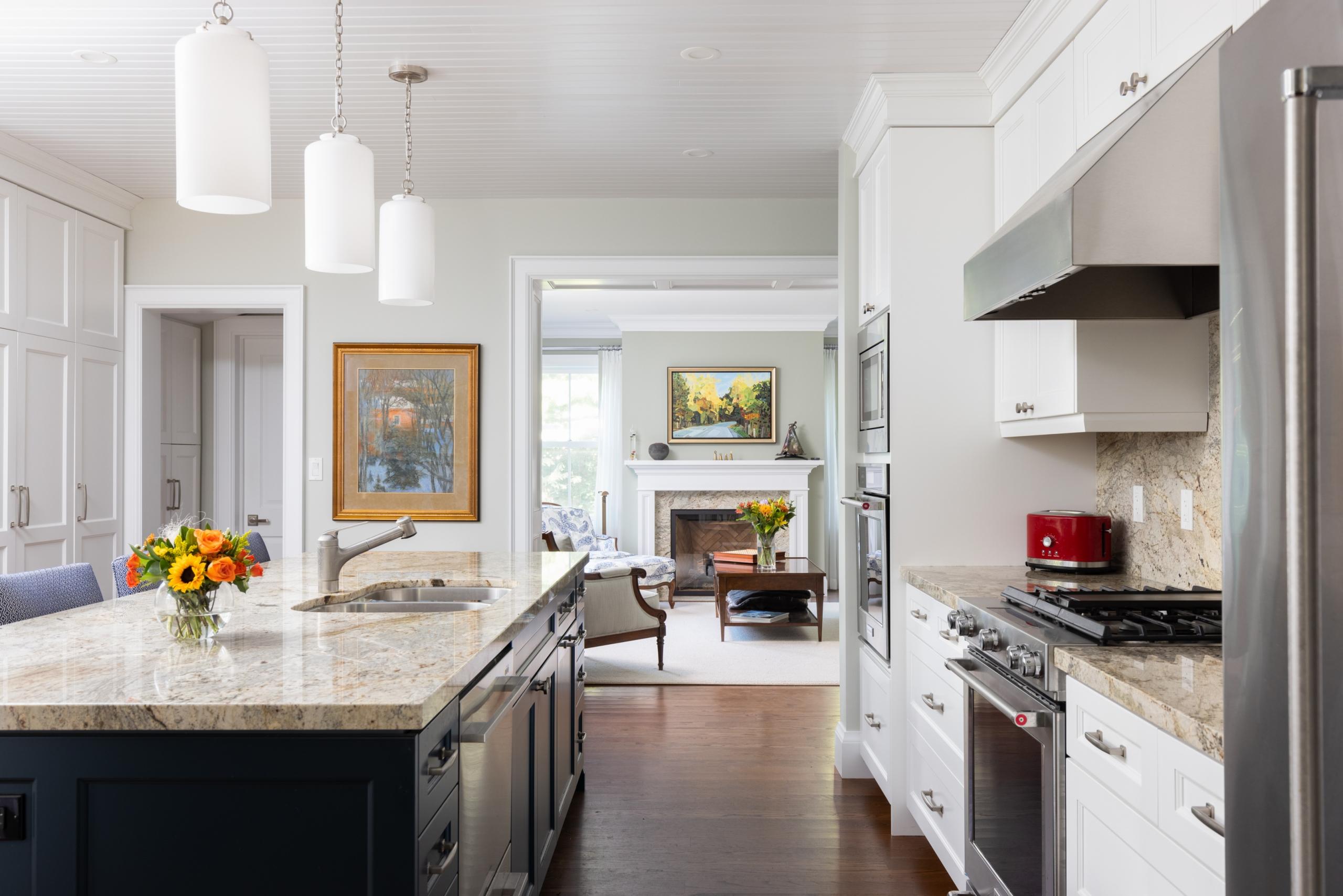 Kitchen featured at 295 William Street, Oakville. Alex Irish & Associates