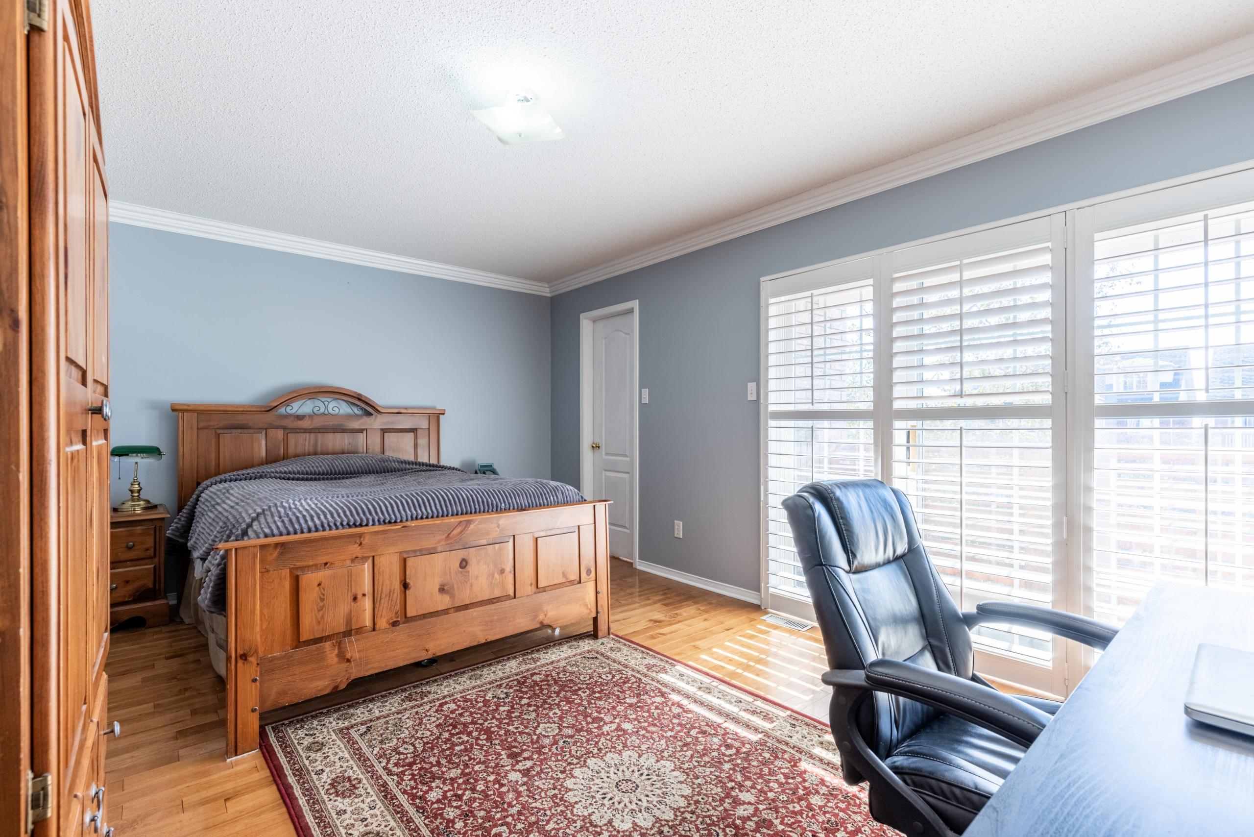 Bedroom featured at 343 Wildgrass Road, Mississauga, ON at Alex Irish & Associates