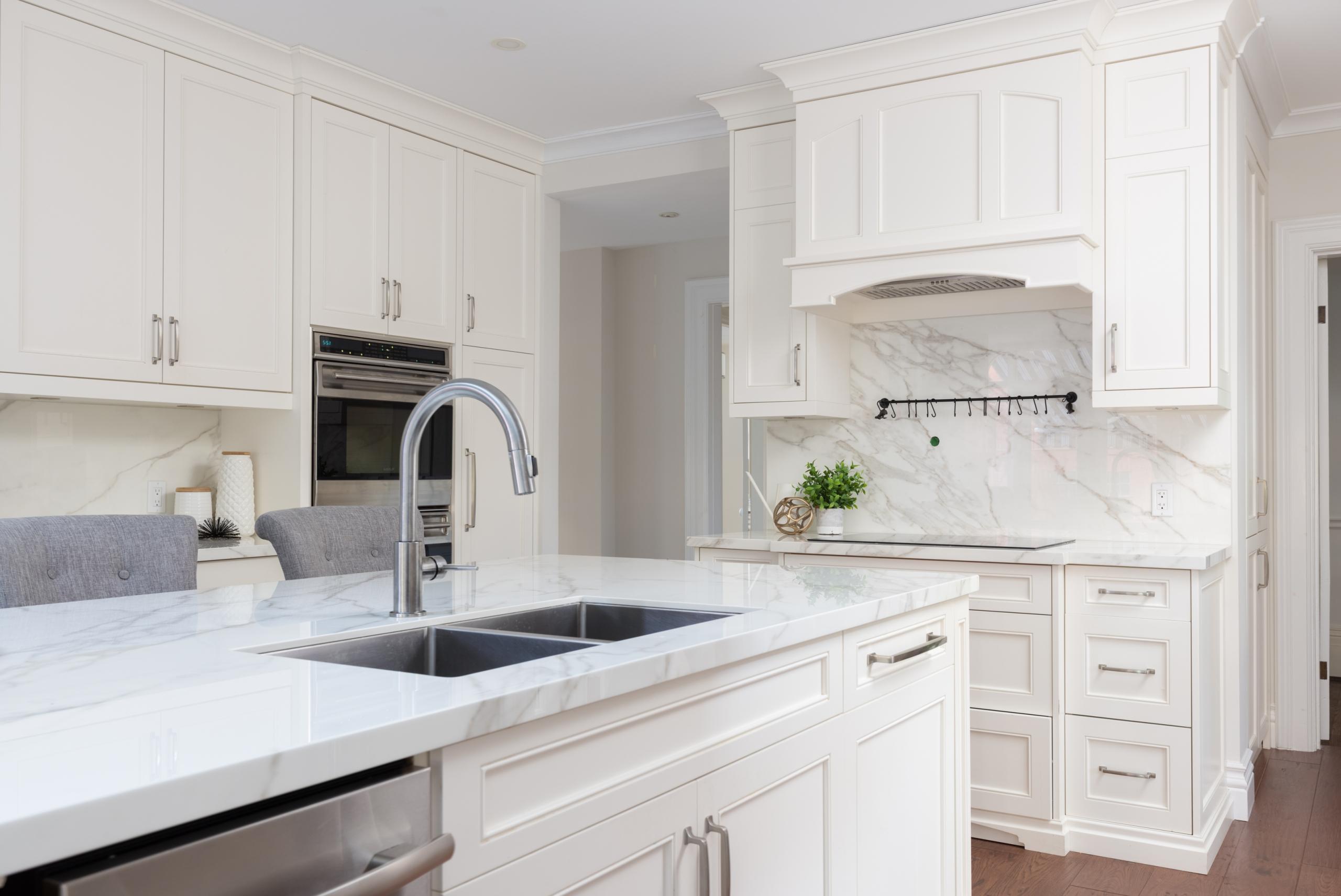 Kitchen featured at 349 Trafalgar Road, Old Oakville, ON at Alex Irish & Associates