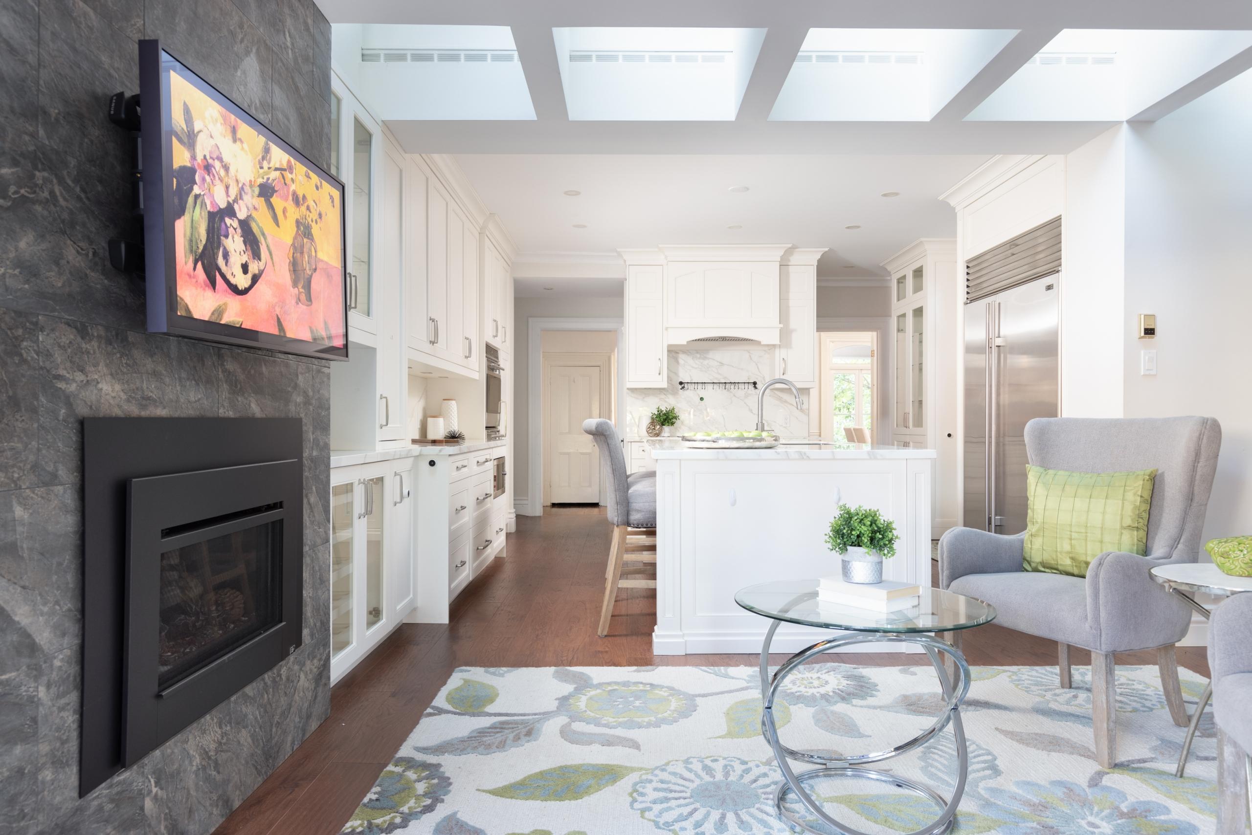 Kitchen room featured at 349 Trafalgar Road, Old Oakville, ON at Alex Irish & Associates