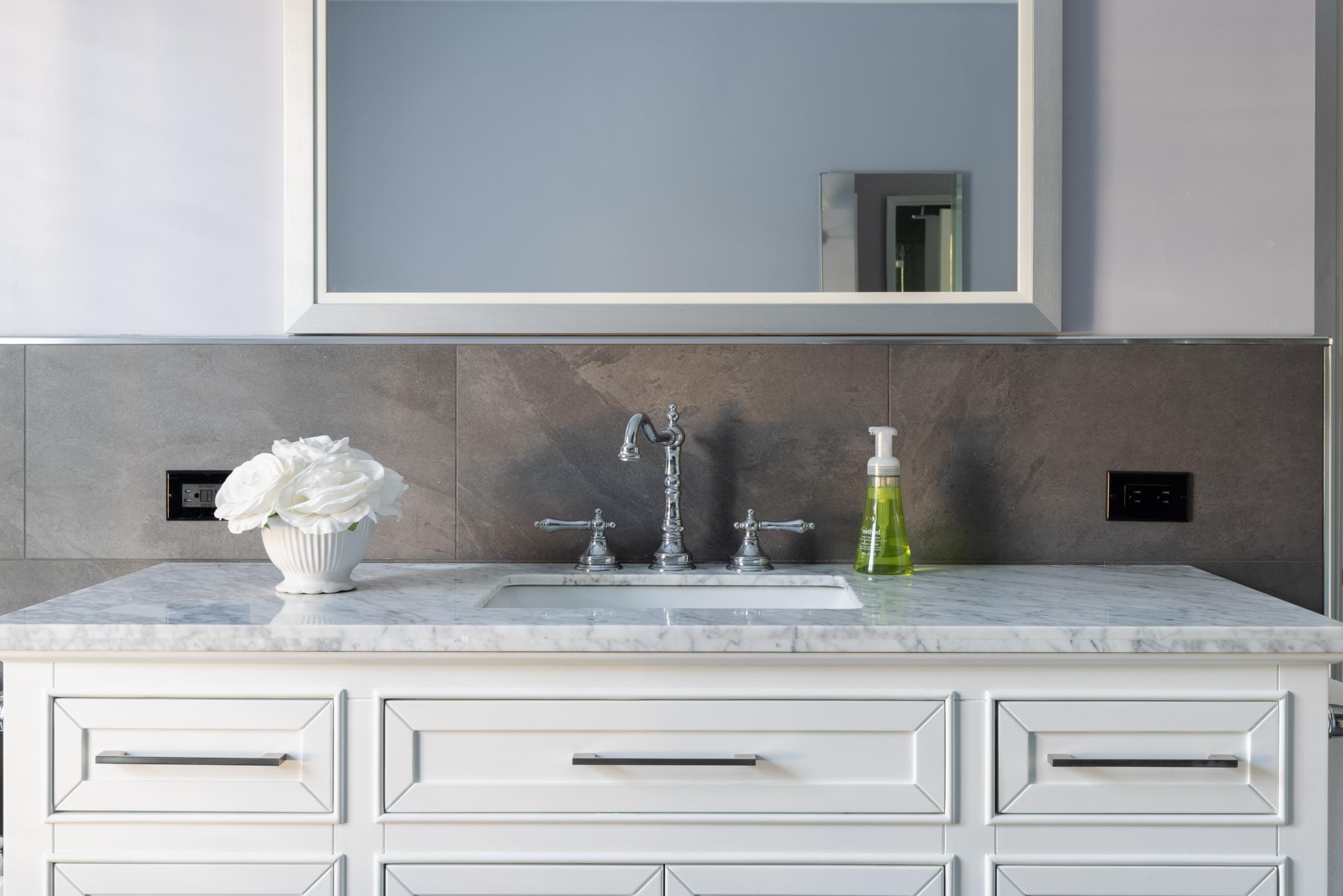 Bathroom featured at 349 Trafalgar Road, Old Oakville, ON at Alex Irish & Associates